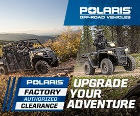 POLARIS FACTORY AUTHORIZED CLEARANCE 2018